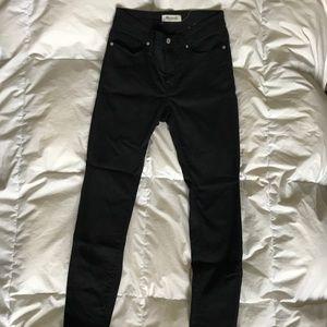 Madewell 9inch Skinnies, Lunar Wash, Tencel fabric